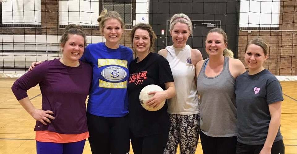 Sporty's 2017 Volleyball Champs!